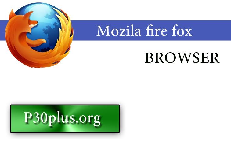 Mozilla Firefox-P30PLUS-ORG