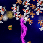 Chicken Invaders 5 Christmas Edition - مرغ های مهاجم 5