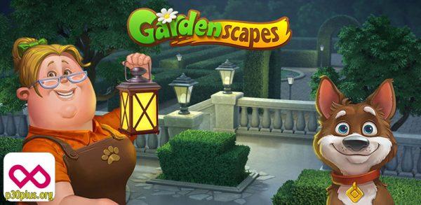 دانلود بازی جورچین - gardenscapes