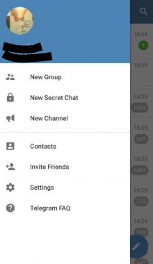 دانلود برنامه تلگرام سیاه برای اندروید- اپلیکیشن black telegram