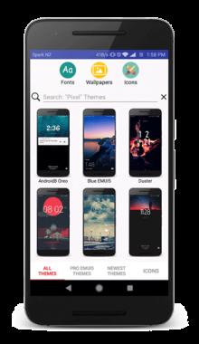 اپلیکیشن تم های هواوی - مجموعه تم های مخصوص گوشی هواوی