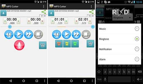 دانلود برنامه برش فایل mp3 با MP3 Cutter Pro v3.9.4 اندروید