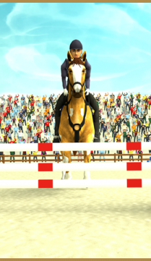 horse academy 3d - بازی آکادمی اسب سه بعدی برای اندروید
