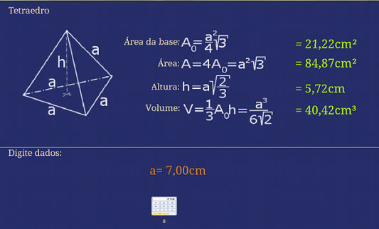 دانلود برنامه محاسبه مساحت Geometry Calculator v2.4 برای اندروید