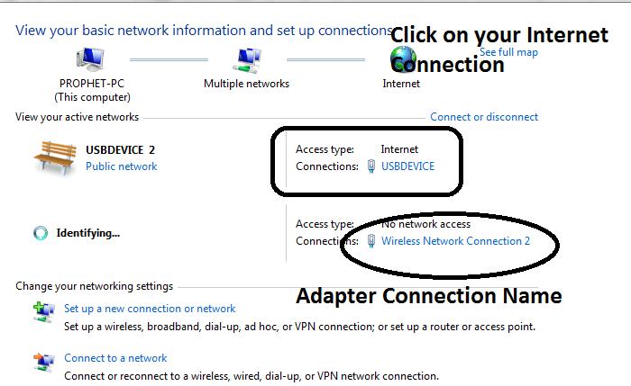 تبدیل لپتاپ به WiFi Hotspot با یک کلیک بدون نرم افزار