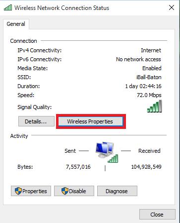 نحوه نمایش پسورد وای فای در ویندوز 10