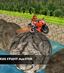 Stuntman Bike Race بازی موتور سواری