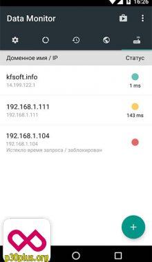 Data Monitor - نمایش حجم مصرفی اینترنت