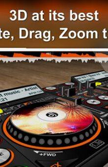 پخش آهنگ با دی جی سه بعدی - DiscDj 3D music player