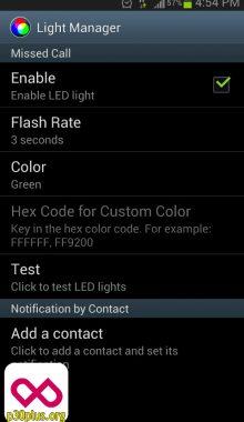 تغییر رنگ LED
