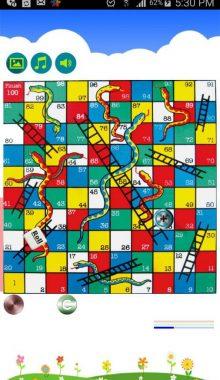 بازی مار و پله - بازی منچ