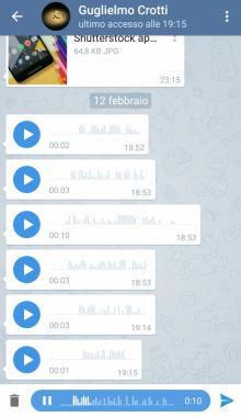 تلگرام قدیمی ، نسخه پایین تلگرام