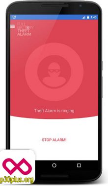 شارژ کامل باتری - Full Battery Theft Alarm