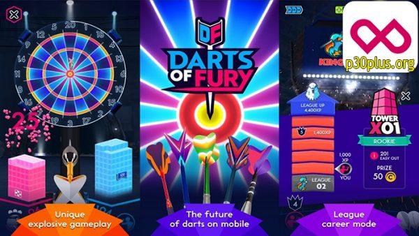 بازی دارت های خشم - Darts of Fury