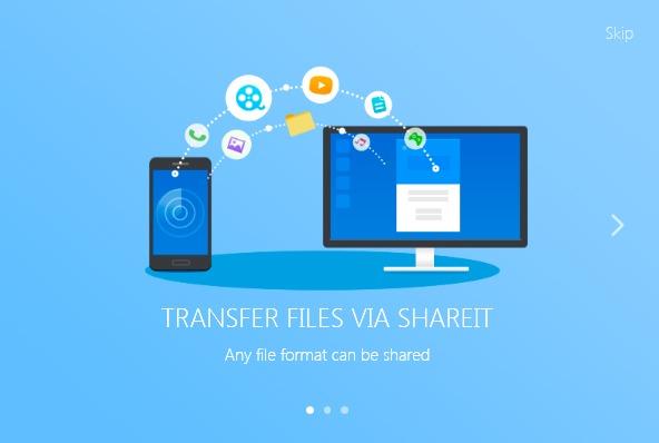 دانلود نرم افزار شیریت برای ویندوز SHAREit نسخه 2018 نرم افزار شریت برای کامپیوتر و لپ تاپ