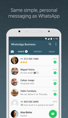 واتس اپ بیزینس , دانلود واتساپ بیزینس , whatsapp business