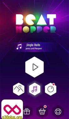بازی پرش توپ با ضربه آهنگ - beat hopper ball bouncing music game