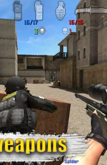 بازی گروه نیروهای ویژه برای اندروید Special Forces Group2 بازی Special Forces Group