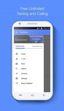 برنامه ساخت شماره مجازی Text Now