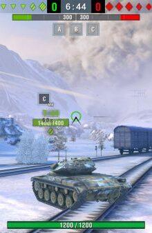 World of Tanks Blitz - بازی نبرد آتشین تانک ها