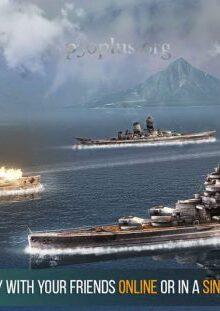 بازی Battle of Warships-رزم ناو ها -بازی نبرد کشتی های جنگی