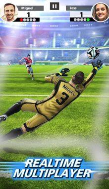 Football Strike Multiplayer Soccer -ضربات ایستگاهی