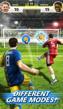 Football Strike Multiplayer Soccer - ضربات ایستگاهی