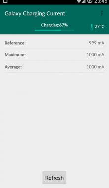 دانلود برنامه Galaxy Charging Current Pro v2.56 بررسی وضعیت شارژ باتری گوشی های گلکسی اندروید
