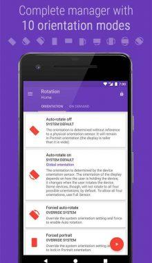 Rotation Orientation Manager - برنامه مدیریت حالت صفحه
