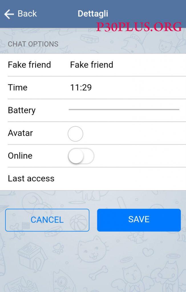 دانلود fake chat - برنامه ای جهت ساخت چت جعلی از همه پیام رسان ها!