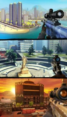 Sniper 3D Assassin Gun Shooter-تک تیرانداز