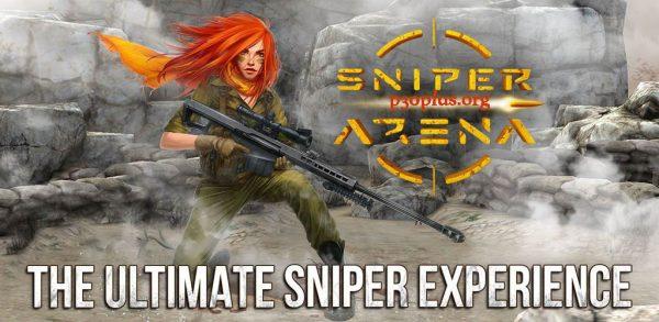 Sniper Arena: PvP Army Shooter-تک تیرانداز