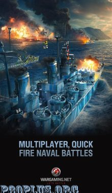 World of Warships Blitz-نبردکشتی ها