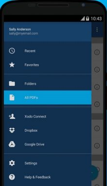 Xodo PDF Reader & Editor- مدیریت و ویرایش فایل پی دی اف