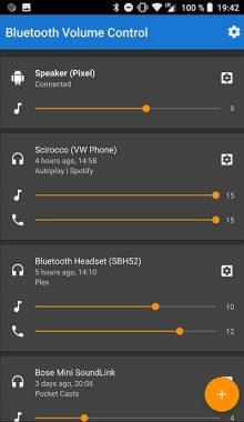 دانلود برنامه Bluetooth Volume Control v2.30 تنظیم صدای بلوتوث اندروید
