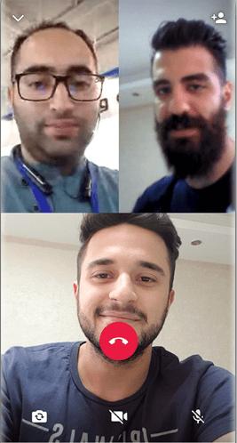 آموزش تماس تصویری گروهی در واتس آپ اندروید - تماس با چند نفر همزمان