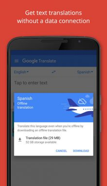Google Translate -مترجم گوگل ترانسلیت