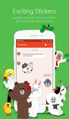 LINE : Free Calls & Messages - مسنجر لاین