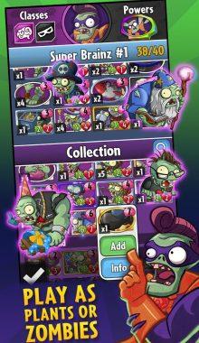 Plants vs. Zombies Heroes - زامبی ها و گیاهان