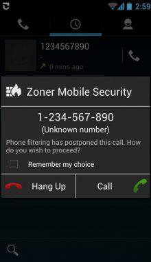 Zoner Mobile Security - آنتی ویروس