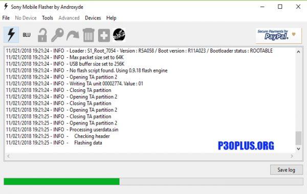 آموزش فلش و کدشکنی - گوشی های سونی Sony با استفاده از برنامه FlashTool-Sony