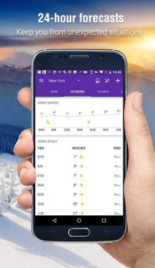 امبر-Amber Weather-برنامه هواشناسی
