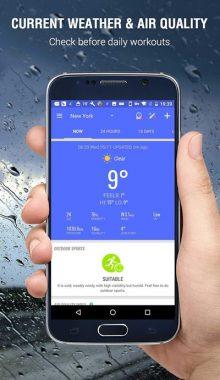امبر - Amber Weather - برنامه هواشناسی