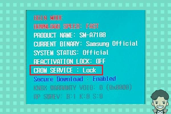 CROM SERVICE - آنلاک CROM SERVICE