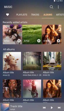 Samsung Music -موزیک پلیر سامسونگ