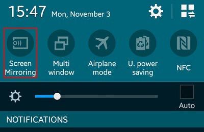 آموزش اتصال گوشی به تلویزیون با استفاده از تکنولوژی Screen Mirroring