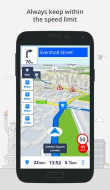 GPS Navigation & Maps Sygic -سایجیک