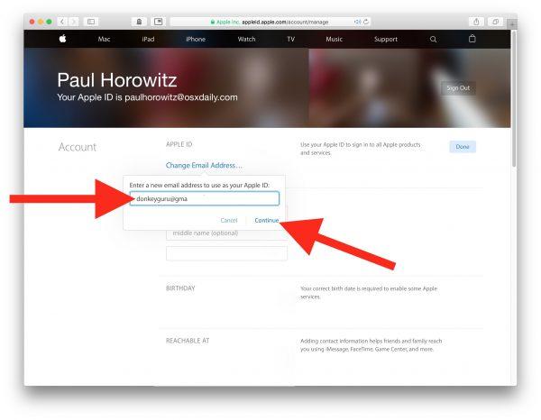 آموزش تغییر ایمیل اپل آیدی ( Apple ID ) به ایمیل دلخواه - نحوه تغییر ایمیل Apple ID