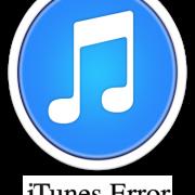 Error های آیتونز - تمام Error های آیتونز - iTunes