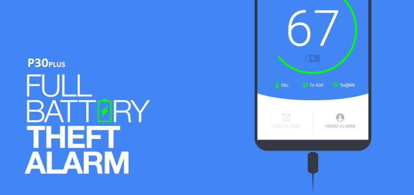 شارژ کامل باطری - Full Battery Theft Alarm